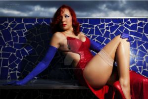 Cosplay Jessica Rabbit by Roxanne by SrtaRoxanne