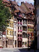Half-timbered Houses by serel