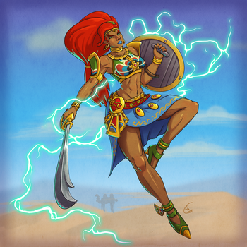 Urbosa by Oni-Tier