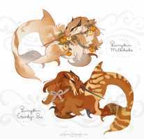 [Adopts] Pumpkin puppies I by 5019
