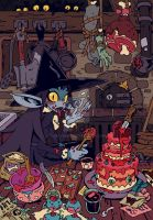 Cannibal Kitchen by sssashimi