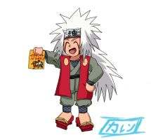 Jiraiya Chibi by BotanofSpiritWorld