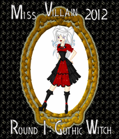 Miss Villain Contest round 1 - Valeria by Saku28