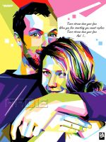 Chris Martin Gwyneth Paltrow by laksanardie