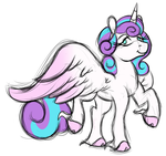Sketchy - Adult Flurry Heart by Ramott