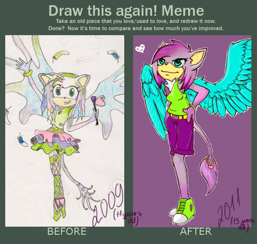 Before and after by 19ME98