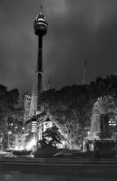 Sydney Tower by rylphotography