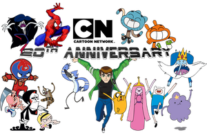 Cartoon Network 20th Anniversary Picture 2 by DASimsTOON2012