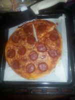 My First Home-Made Pizza by BlossickGirl