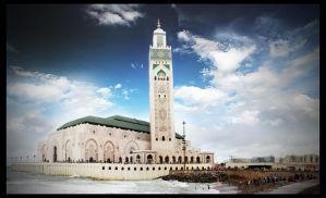 Hassane II mosque by Federer4ever