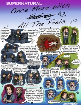 SPN: Once More With All The Feels pt. I by blackbirdrose