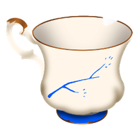 Chipped Cup by F-A