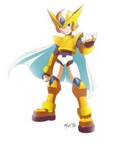 Mega Man Model G (Golden armor) by Shoutaro-Saito