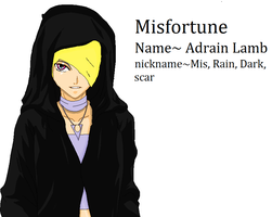 rotg oc: Misfortune by axelfangirl956