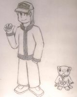 PKMN Trainer Tai and Kenshin by TheSunnyGuy