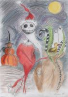 Jack Skellington as Santa by Erotic-Funeral