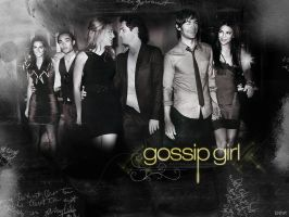 Gossip Girl EW Shoot Wallpaper by SNnat17