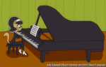 Kitty Plays The Piano by tpirman1982