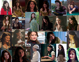 OUAT Belle collage by JackieStarSister