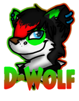 D-Wolf Badge by Sockune