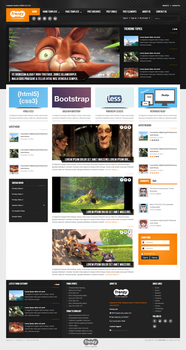 Frenzy - Responsive Bootstrap Template by nackle2k1