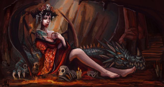 The Succubus by Whammeh