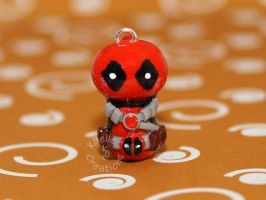 Chibi Deadpool by KBelleC