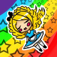 Chibi Falling Alice by Netti-Chan15draw