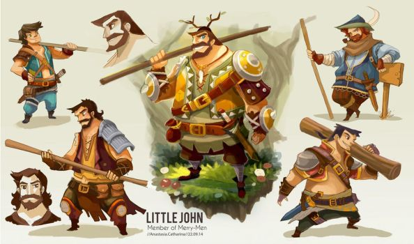 Little John - Robin Hood Re-Imagined by anacathie