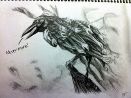 Nevermore by GreenMangos