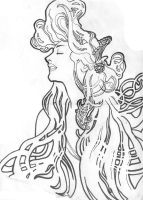 Mucha Inkwork by rolfness