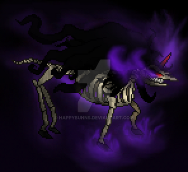 Sombra the Lich Sprite by Happybunns