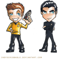 Star Trek 2 by IndyScribbable