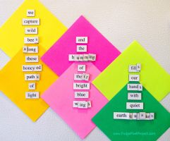 The Daily Magnet #115 by FridgePoetProject