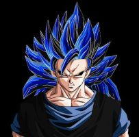 Evil Goku ssj3 Dragon Ball AF by ExtremeNick