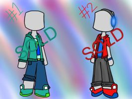 MC boy OC Clothes SALE (SOLD OUT) by R3dXgaming