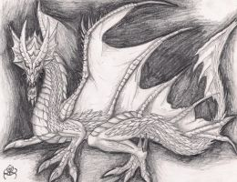 Old-Hungry dragon by Eppon