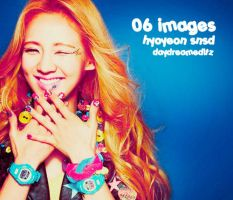 6 Hyoyeon Images by daydreameditz