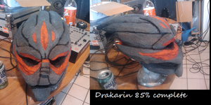 Turian head eighty five percent complete by Safyras