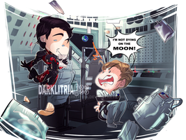 LoT: I'M NOT DYING ON THE MOON! by DarkLitria
