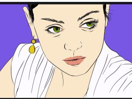 Mila Kunis- vector by Makavely247