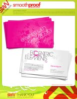 BizCard: Eccentric Elements v2 by angelaacevedo