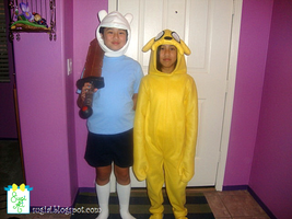 Adventure Time Halloween Costumes by SugiAi
