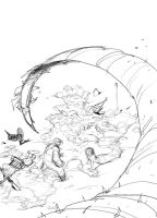 First Penciled Cover BDL by PatBoutin
