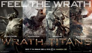 Wrath of The Titans 2012 by MoviePoster2012