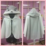 Neko Atsume Cape by shadowhearts