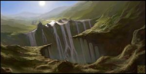 Waterfalls by Clauthor