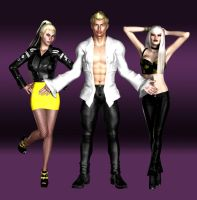 The Stingers (from Jem) by Happenstance6