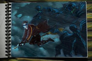 Chased by the Dementors.. by PLatiNumkinG1993