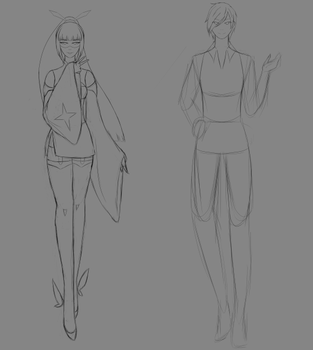WIP - More Redesigns by HIDDENloid-EXE